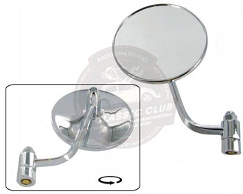 Jopex Door Mirror Head Left