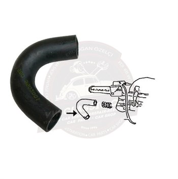 Vwclassicclub Oil Breather Elbow