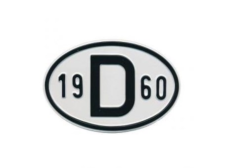 Mountless Rear Plate 19D68 (1968)