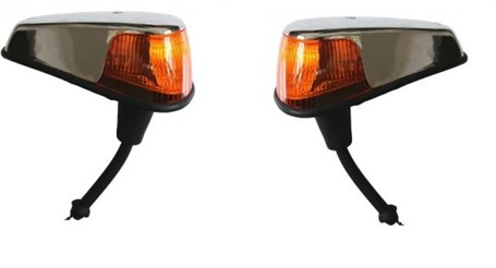 Jopex Front Indicator Assembly USA Specification with Amber Lens with Seal for 1300 - 1302 - 1303
