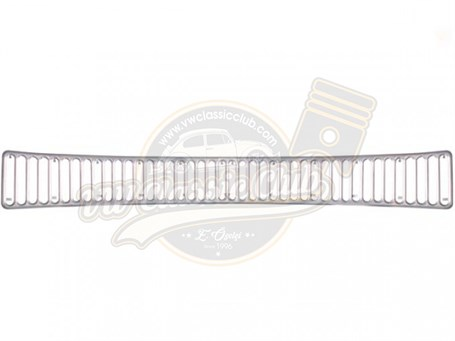 Nickel Bonnet Grille Rear Long 50 Holes