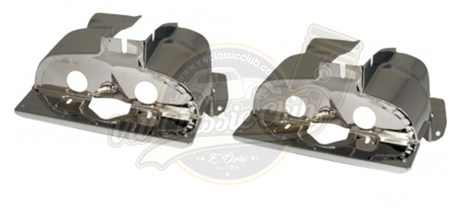 Cylinder Head Cover Nickel (Single Manifold) - Pair