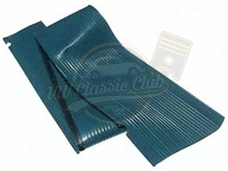 Running Board Mat Turquoise
