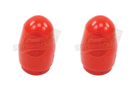 Rear Suspension Bump Stop - Red (Pair)