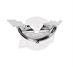 Under Pulley Guard Panel Chrome