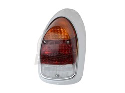 Complete Rear Light Left with Amber Clear and Red Lens