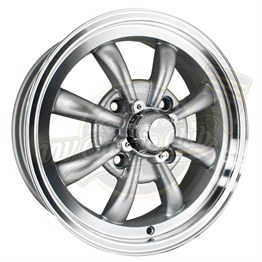 15 GT 8 Spoke Chrome Rim 4x130