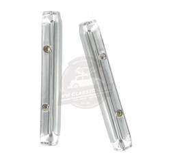 Hinge Cover for Rear Quarter Pop-Out - Chrome