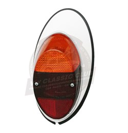 Paruzzi Complete Rear Light Left with Amber Clear and Red Lens