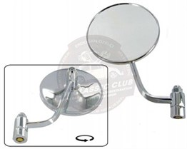 Left Hand Hinge Mounted Mirror
