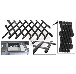 Fresh Air Mesh Grillee for Opening Window - Black