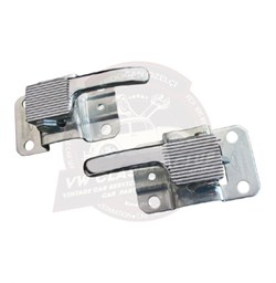 Left and Right Interior Door Handle Chrome - Pair