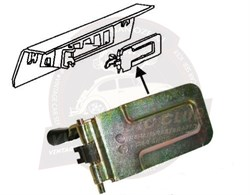 Jopex Right Side Heater Control Flap