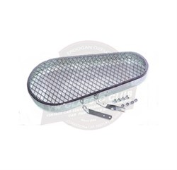 Mesh Fan Belt Guard Nickel