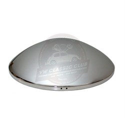 Chrome Baby Moon Hubcap (1100-1200-1300-1302-1303-T2BAY-Karmann Ghia-Type3)