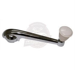 Window Winder Handle Chrome with Beige Knob (1100-1200)