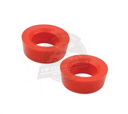 Outer Rear Torsion Arm Bush - Pair - Red