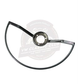 Chrome Horn Push Semi-Circle (1100-1200-1300-Karmann-Variant)
