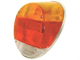 Complete Rear Light - Yellow & Red Lens (1303)