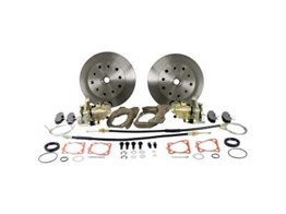 Front Disc Brake Conversion Kit with 5x130 Stud Pattern with Dropped Spindles