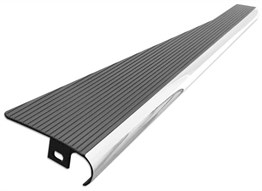 Empi Exterior Black Chrome Running Board