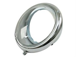 Single Headlight Stainless Steel Clear Glass (Piece) (1100-1200)