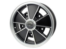 Rim Matte Black+Chrome 5x205