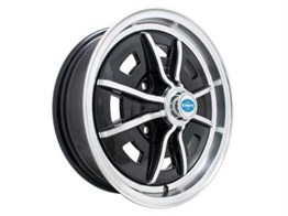 "15"" Black, Chrome Sprintstar Rim 4*130"