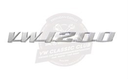 Vw Classic Club Vw 1200 Yazı Plastik (1200)