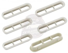 Interior Ventilation Grill Bakelite Cream (Set)