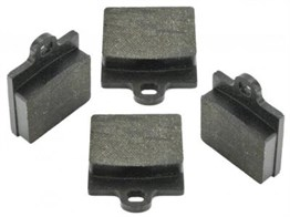 Jurid Front Brake Pad Set Single Pin