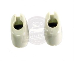 Sun visor Clips in Off White (Pair) (1200-T2BAY)