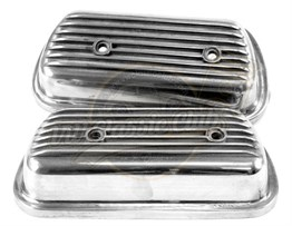 Rocker Cover Set Aluminium (1100-1200-1300-1302-1303-T2SPLIT-T2BAY-Karmann Ghia-Type3)