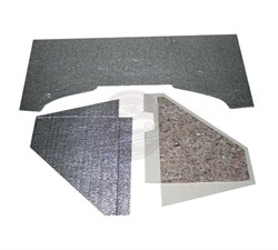 Chrome Engine Sound Isolation Cardboard