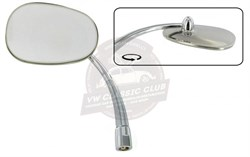 Oval Door Mirror Left