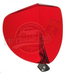 Biflector Red (1100-1200-1300-1302-1303-Karmann Ghia-Variant)