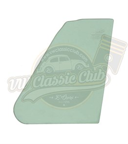 Cabriolet Vent Window Glass Green (1200-1300-1302)