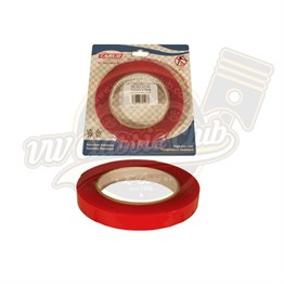 Transparent Double Sided Tape 15mm x 5M with Vacuum