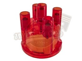 Distributor Cap Red (1100-1200-1300-1302-1303-T1-T2-Karmann-Variant)