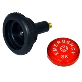 Emergency Flasher Knob Kit With Light Bulb