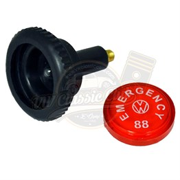 Emergency Flasher Knob Kit With Light Bulb (1300-1302)