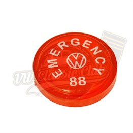 Emergency Knob Insert (1302-1303-T2BAY-Karmann Ghia-Type3)