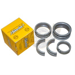 Main Bearing Set Undersize Crankshaft x Standard Case x Standard Thrust (outer 65,00-inner 0,75) (Silverline)