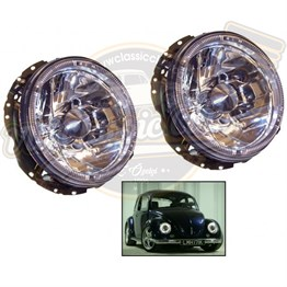 Complete Angel Headlight 1 Piece