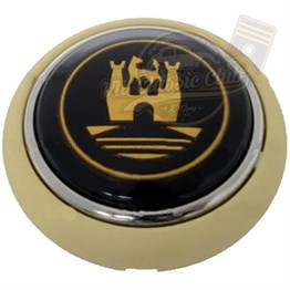 Empi Horn Button Ivory-Gold (1100-T1)