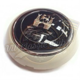 Horn Button Ivory-Silver (1100-T1)