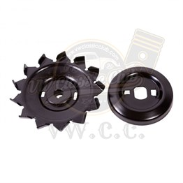 Complete Pulley with Fan for Alternator (1100-1200-1300-1302-1303)