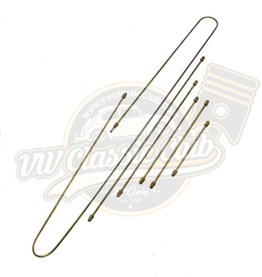 Metal Brake Line Kit (7 Pieces) (1300-1302-1303)