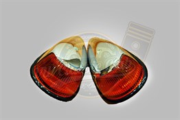 Front Indicator Lens Amber (Pair) (1300-1302-1303)
