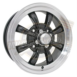GT 8 Spoke 5,5x15 Black Rim 4x130 (8 Armed)
